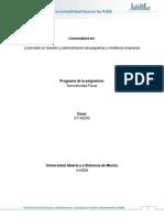 Unidad 1.Fundamentos de La Normatividad Fiscal en Las PyME