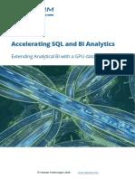 SQream DB Whitepaper - Speeding Up Analytics With SQream DB