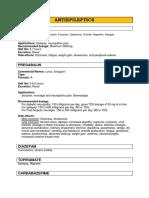 Medication Database 1