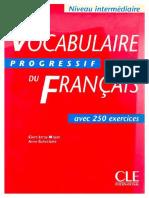 Vocabulaire Progressif Du Francais - Niveau Intermediaire_text