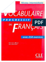 Vocabulaire Progressif Du Francais - Niveau Intermediaire_text