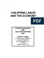 Sibal Philippine Labor and the Economy 2008