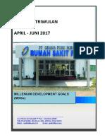 Laporan Triwulan Tb Paru April - Juni 2017