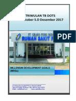 Laporan Triwulan Tb Paru Oktober - Desember 2016