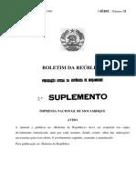Lei de Aguas 1991