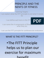 THE FITT PRINCIPLE AND THE  COMPONENTS OF FITNESS.pptx