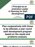 The Principal as an Administrative Leader