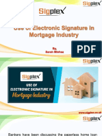 Use of Electronic Signature in Mortgage Industry.pptx