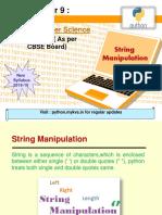 String Manipulation