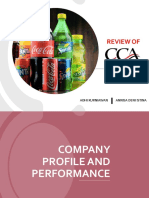 Cocacola study case