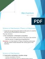 Lec1 Mechanism