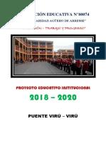 PPROYECTO EDUCATIVO INSTITUCIONAL - MARÍA CARIDAD AGÜERO DE ARRESSE- 2017