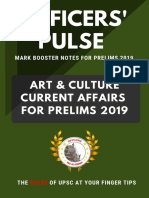 Art and Culture in Current Affairs for Prelims 2019