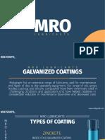 MRO Galvanized Coatings at Molygraph
