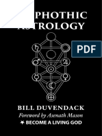 Qliphothic Astrology Chapter One Bill Duvendack