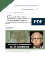 Iravatham Mahadevan