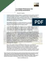 Catalystpoisonsfoulingmechanisms Theimpactoncatalystperformance 130804132910 Phpapp02