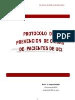 Protocolo de prevención de caídas.