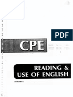 Grivas CPE reading and use of english answers