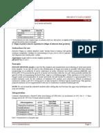 Full Specification and Technical Data Sheet Of Potato Dextrose Agar