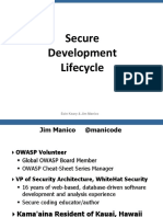 Jim Manico (Hamburg) - Securiing the SDLC