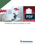 Catalogo Termoacumuladores a Gas