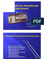 11. Orthopaedic Periarthicular Instruments