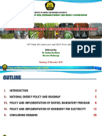 Roadmap Biodiesel Indonesia