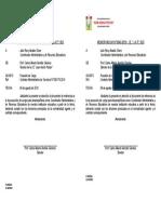 040 Posesión de Cargo Administrador