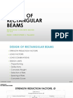 Lecture 2 - Reinforced Concrete - Design of Rectangular Beam