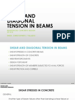 Lecture 3 - Reinforced Concrete - Shear and Diagonal Tension