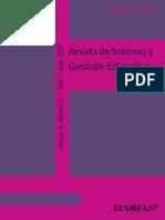Revista de Sistemas y Gestión Educativa V4 N11
