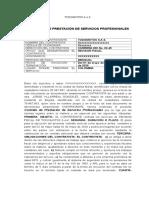 Contrato Prestación de Servicios REVISOR FISCAL