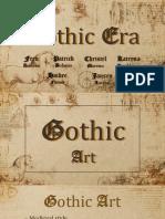 Gothic Era MAPEH