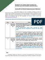 B.tech Revised Supplementary-spot Instructions 07.08.19 - 2019