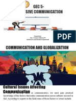 Gec 5 PCommunication and Globalization Copy