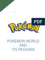 POKEMON WORLD AND ITS REGION