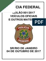 Revista Leilão 001_2017 SR PF RJ