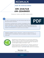 manual de uso xomax