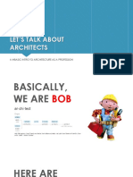 What Architects Do!