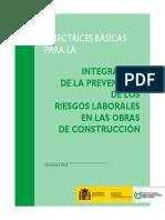 RIESGOS LABORALES EN LAS OBRAS DE CONSTRUCCIÓN