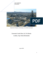 Economia Crudo Merey 16, Via Mezcla por Nelson Hernández