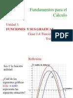 3.4 Funciones Especiales Transformaciones (1)