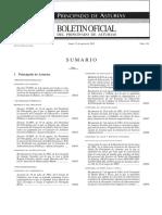 Regulacion IES en Asturias
