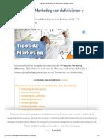 49 Tipos de Marketing con Definiciones, Ejemplos y clases.pdf