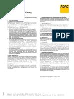 ADAC-Leistungsordnung