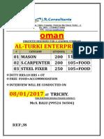 Muscat Vacancy