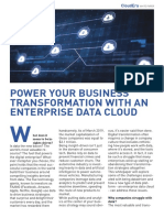 Business Transformation with data cloud