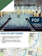 Auditorium Casestudy 1