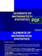 Statistic e 1